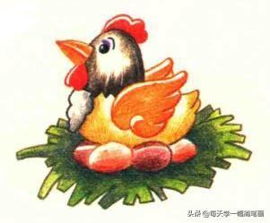 少儿简笔画小鸡怎么画_酷知经验网