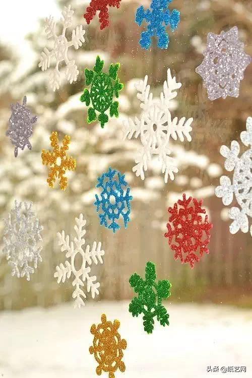 实拍丨12步立体折纸雪花图解,你的家乡下雪了吗?