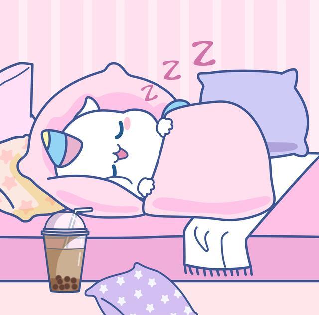 不想起床图片可爱