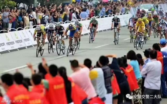 环中国自行车赛安顺赛段:本法托再夺赛段冠军,恒翔车队夺两衫