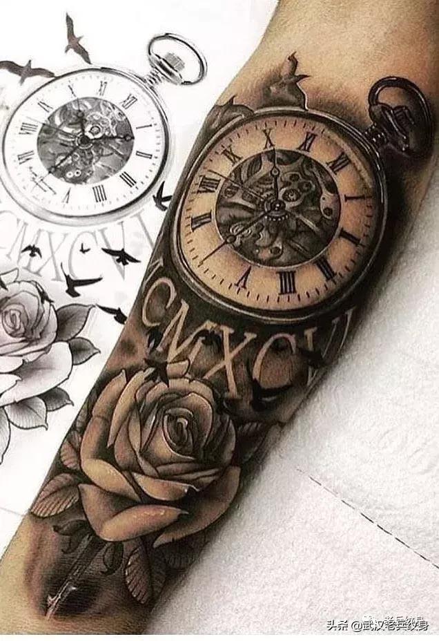欧美纹身经典图片