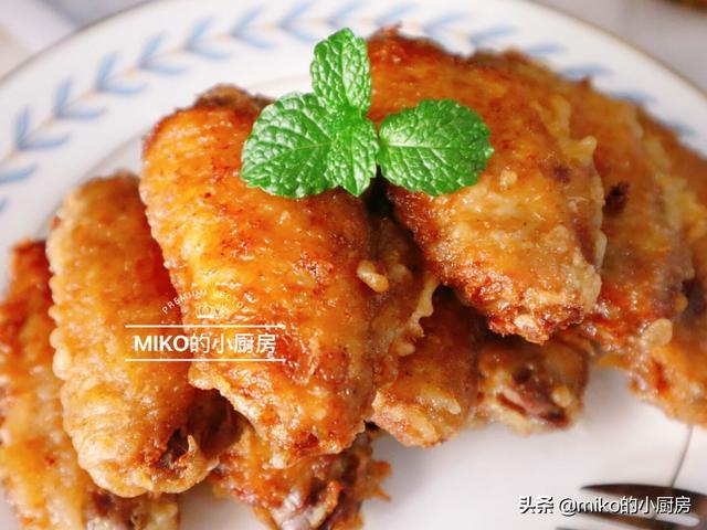 香炸鸡中翅图片
