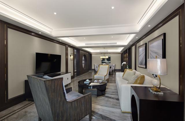 145平保利拉菲公馆,走进一看,卧室美呆了