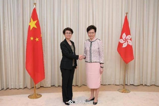 港区国安委成立:林郑月娥担任港区国安委主席