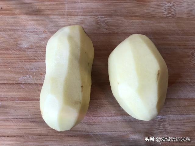 家庭版土豆泥,用家中现有食材给孩子做一个小零食,爱吃的不得了