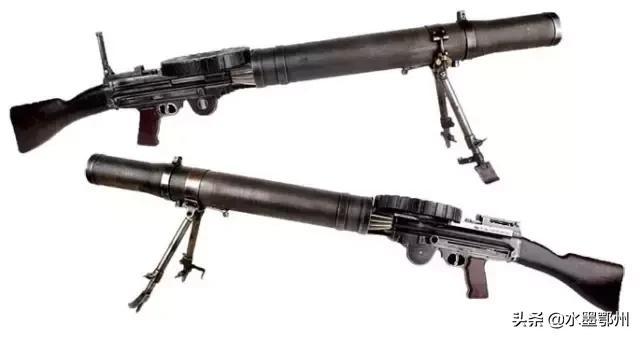 比利时MAG7.62毫米通用机枪,弹链供弹持续射击