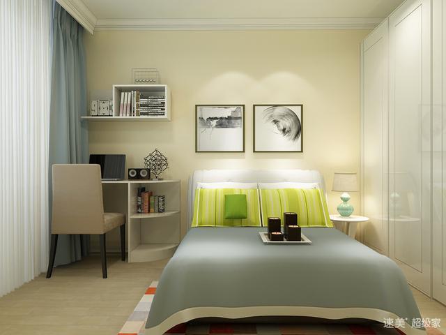 阁楼最小卧室