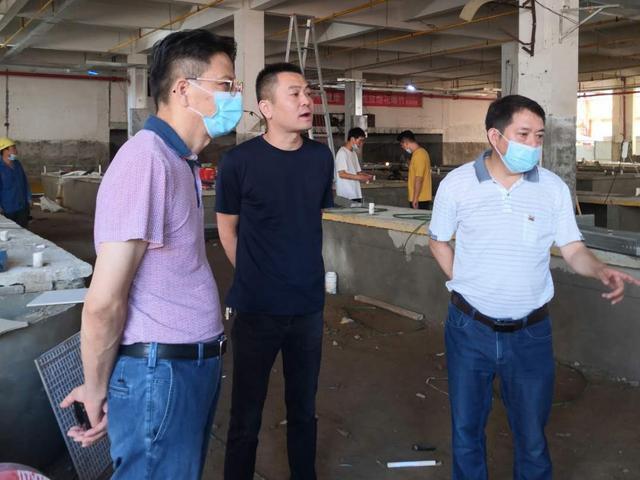武漢市黃陂區加快推進農貿市場標