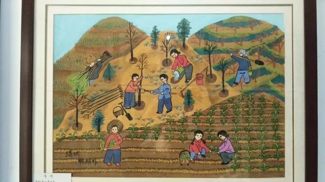 美得令人窒息的二十四节气农民画
