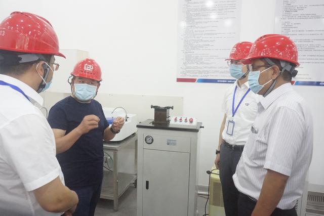 热烈欢迎河南省水投设计院领导参观考察