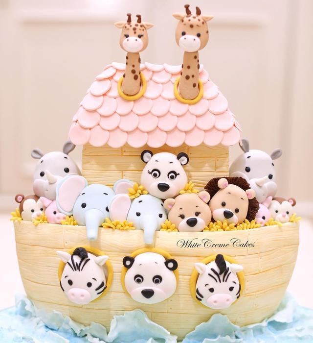 50款店鋪熱銷翻糖生日蛋糕,教你玩轉翻糖蛋糕!