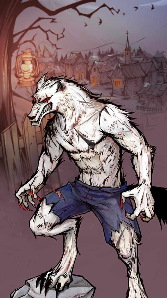 狼人杀拜访录人物高清壁纸(女巫、白狼王、狼美人、暗恋者)