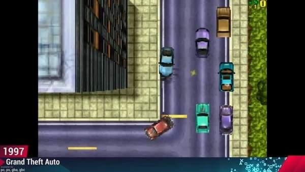 《GTA》系列城市进化史 23载青葱岁月,万丈高楼平地起