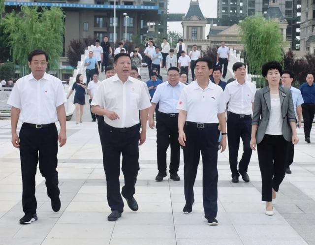 南阳市委书记张文深率观摩组调研赊店酒乡小镇
