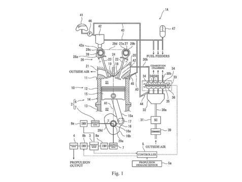 川崎新引擎专利 两冲程发动机可能重见天日