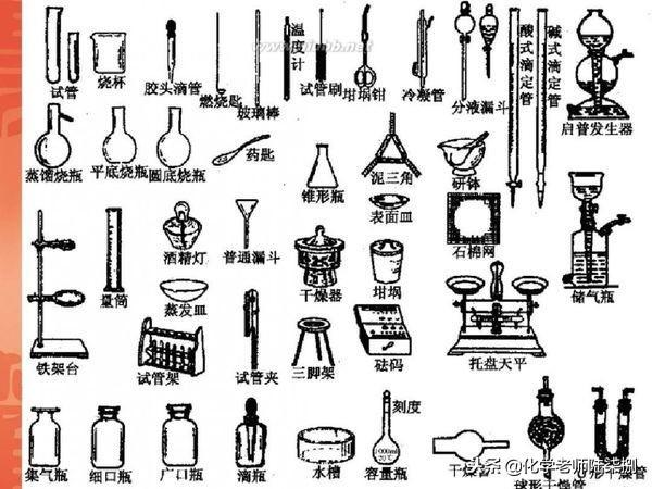 初中化学|实验室常用器材都有什么