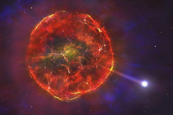 新型超新星爆炸后飞掠银河系-第1张图片-IT新视野