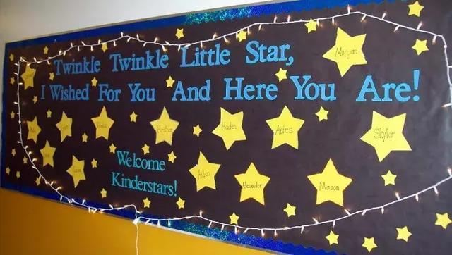 黑板报素材欢迎新同学