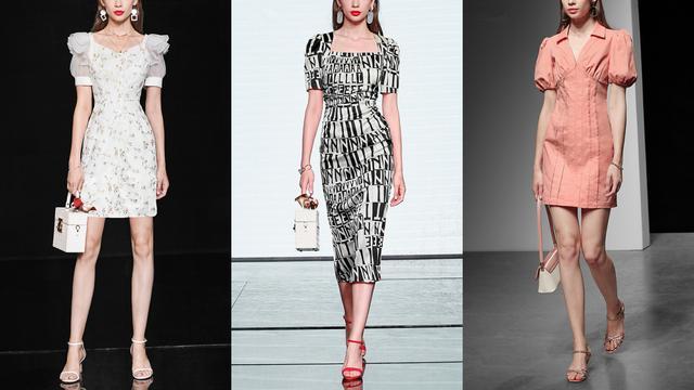 今年都流行哪些裙子?看这12件连衣裙,不靠脸照样穿出优雅气质