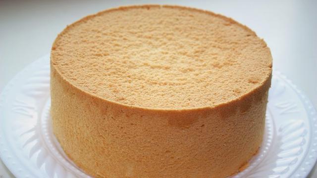 手把手教你戚風蛋糕的做法,步驟詳細,方法簡單,不塌陷,0失敗