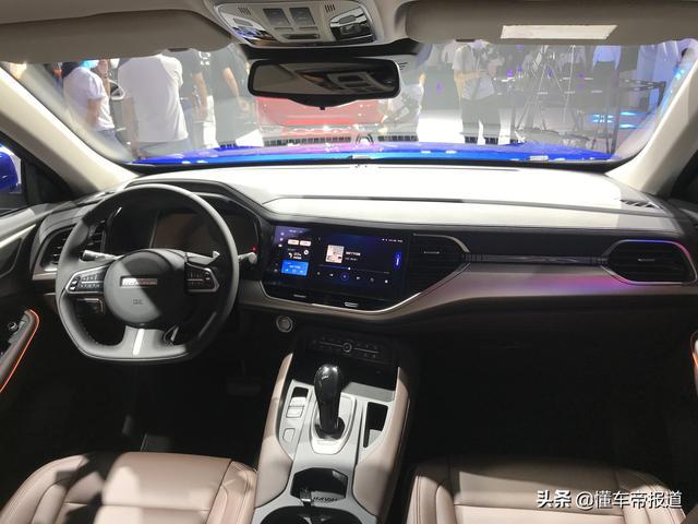 新车 | 将搭载最新车机系统 2021款哈弗F7/F7x亮相成都车展