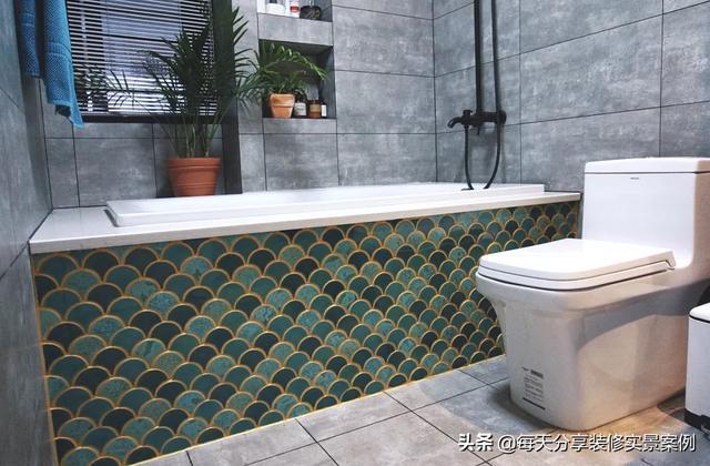 等到我有房了,卫生间装修一定要有浴缸,每天都很舒服的泡澡!