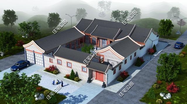 农村房子图片大全二层