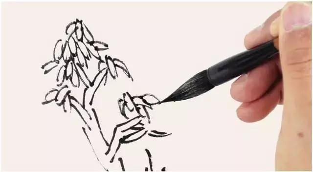 松树怎么画简笔画