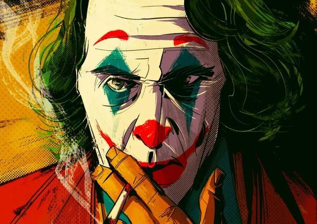 小丑男头流泪图片
