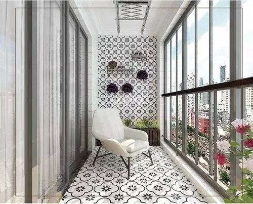 阳台篇 | 花式贴砖,好看又实用!