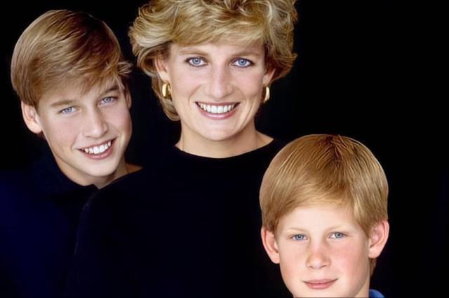 哈里王子和戴安娜王妃