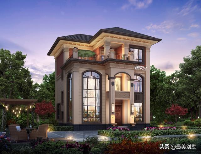 农村就要建这种新中式别墅,5款满分设计的图纸,没人敢说你土