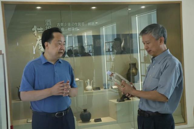 中国白酒金三角协会理事长王少雄调研指导川酒集团发展