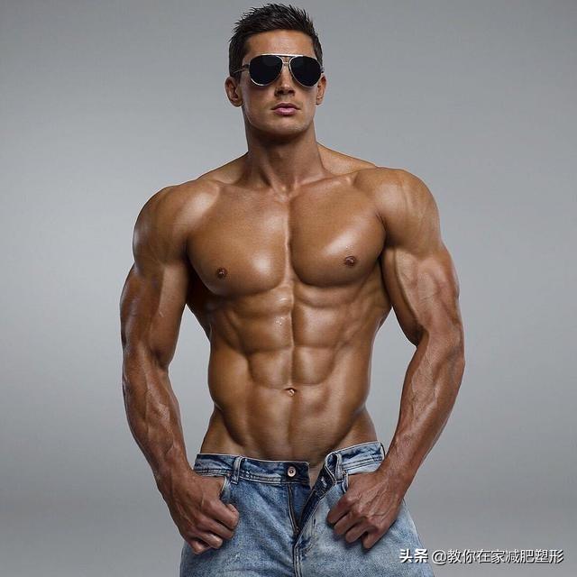 腹肌轮练哪里肌肉图片