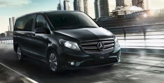 新款奔驰威霆直上2.0T,售29.38万起,不给GL8活路
