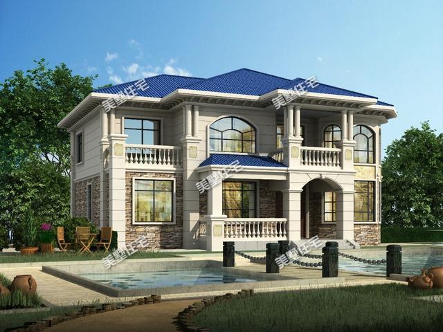 二层农村小别墅设计图