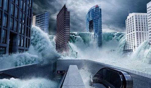 海平面上升66米后中国会消失哪些一线城市?