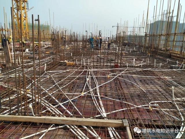 钢结构水电预埋图片