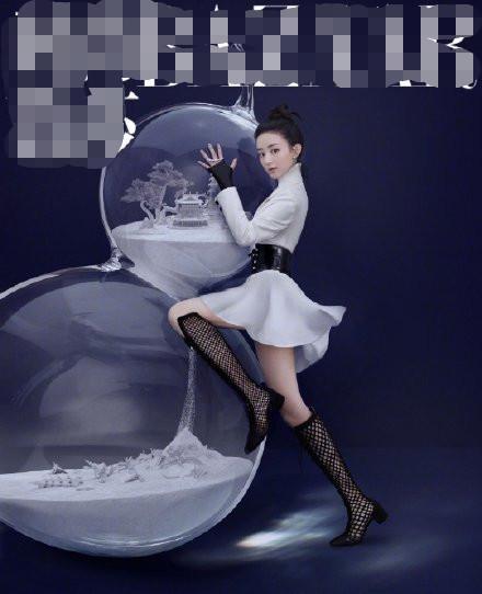 赵丽颖半年七本时尚杂志,风格百变的美图都在这了!