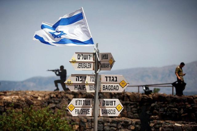 巴勒斯坦地图位置图