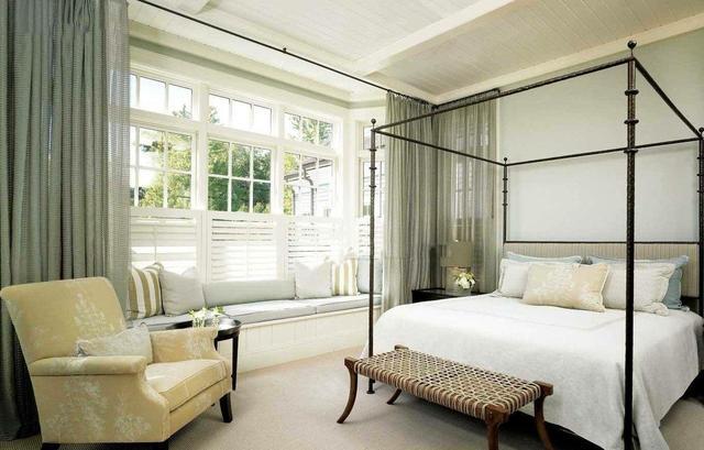 卧室里有个飘窗要怎么用起来?这些设计了解一下