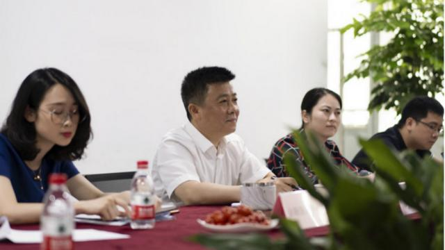 杭州未来科技城管委会一行莅临小电为创新IOT+便民服务点赞