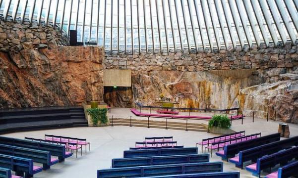拉利贝拉岩石教堂内景