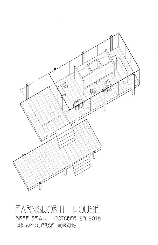 密斯•凡德罗丨一栋无法居住的理想别墅