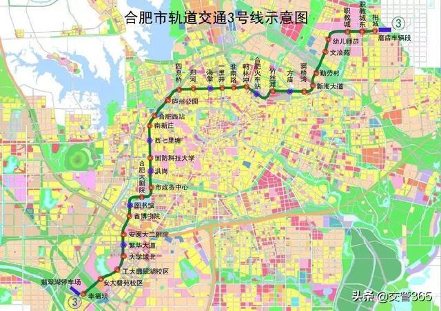 北京地铁三号线线路图。_360问答