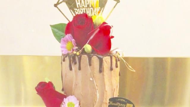 五層鮮花蛋糕