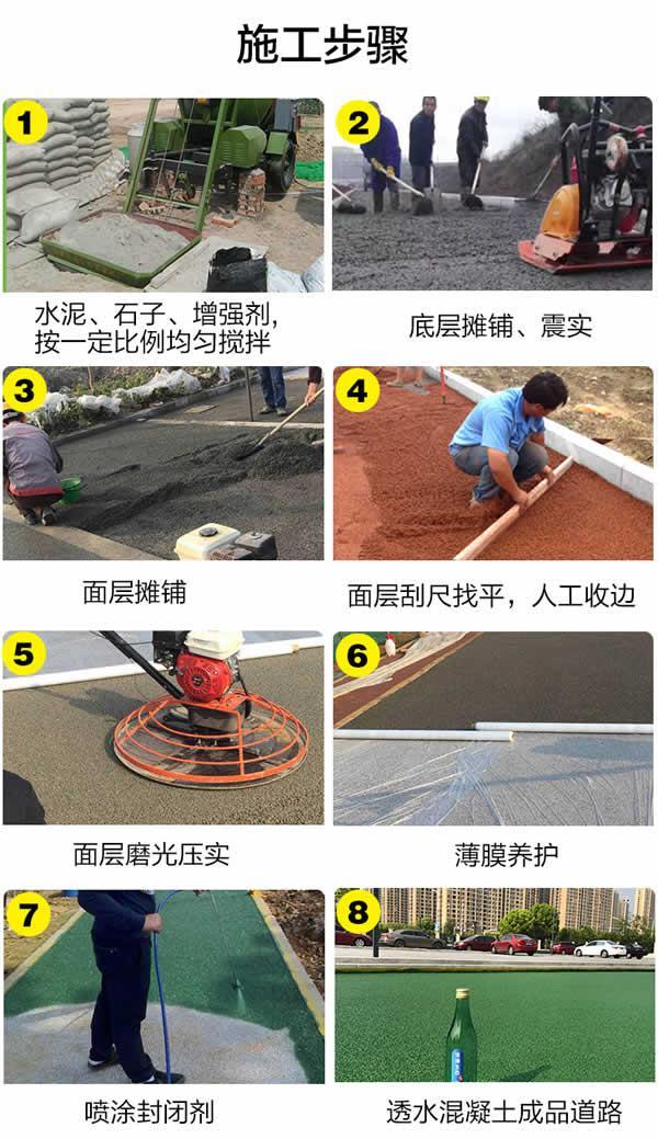 高承载透水地坪在绿色停车场改造中的应用