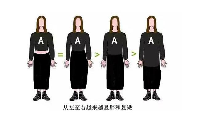 小个子穿长裙还是短裙?答案真不能一概而论,关键还得看这几点