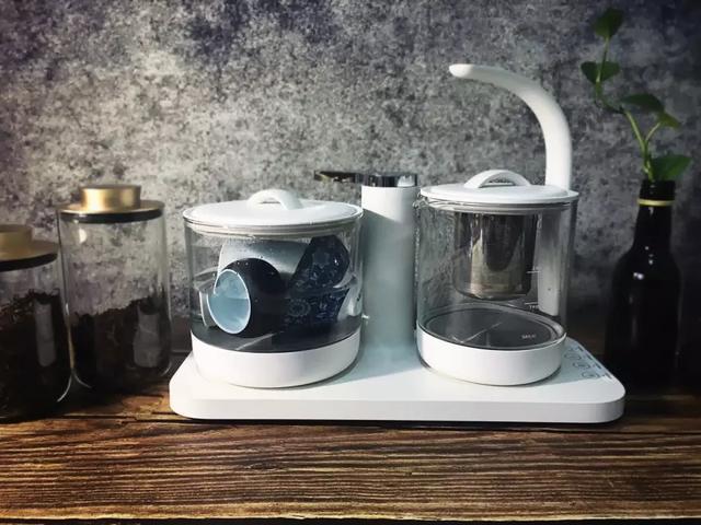 高档玻璃煮茶具图片