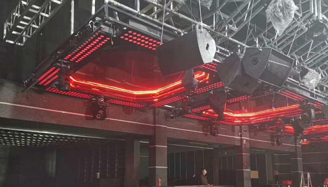 舞台灯光音响图片